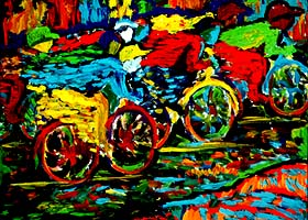 The Cyclists, Uwechia 1975.