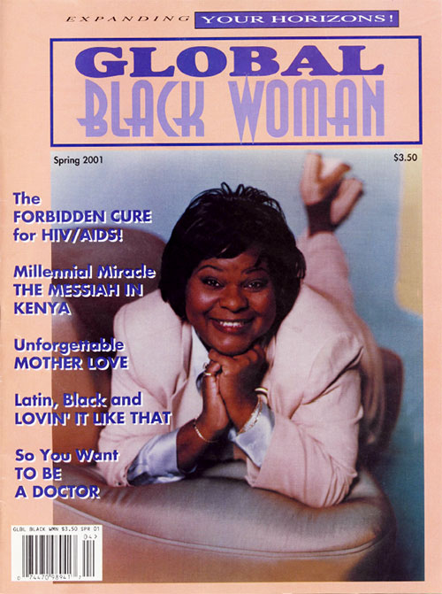 Global Black Woman Magazine: Spring 2001 with Mother Love