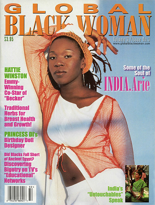 Global Black Woman Magazine: Volume 3 / Issue No. 3 2001 with India Arie