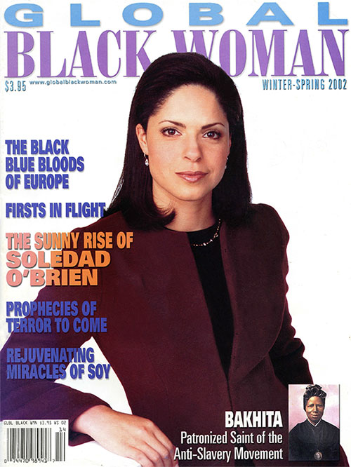 Global Black Woman Magazine: Winter-Spring 2002 with Soledad O'Brien