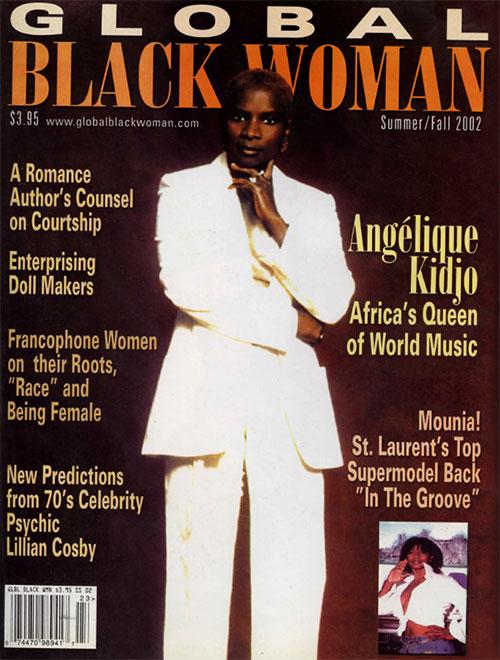 Global Black Woman Magazine: Summer/Fall 2002 with Angelique Kidjo