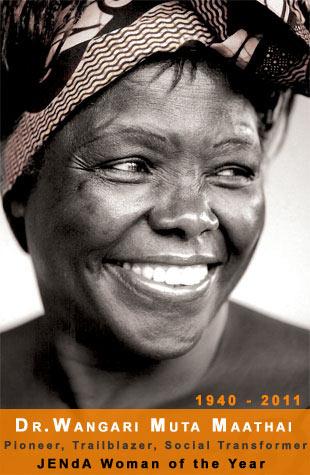 Dr. Wangari Muta Maathai, Nobel Laureate